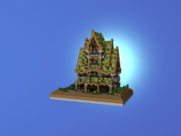 Magic House #7 Minecraft Map & Project