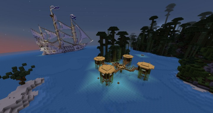 pirate ship dungeon