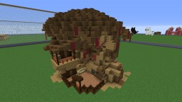 Random twisted house. Minecraft Project