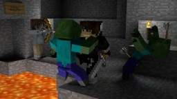 """""""A Tight Squeeze"""" Minecraft Animation Picture"""