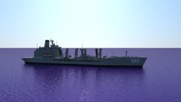 USNS Henry J. Kaiser   1:1 scale Minecraft Map & Project