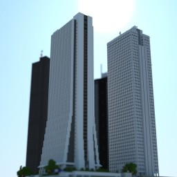 Shinjuku, Tokyo project chunky pictures Minecraft Project