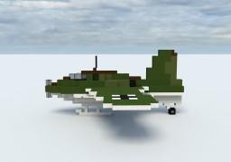 Messerschmitt Me163 Komet (4:1) Minecraft