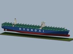 "Container Ship ""HYUNDAI TOGETHER"""
