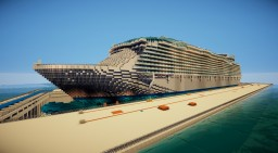 Oasis of the Seas (Real size) Minecraft Project