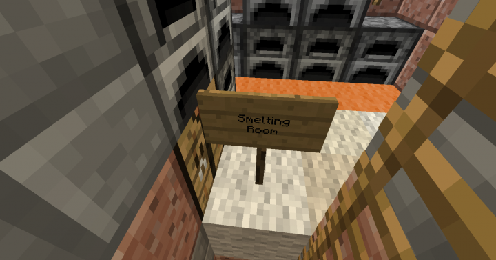 This is the Original Smelting Room. The 2.0 one is a Hall with about 100 Furnaces.