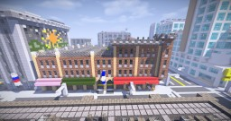 Hotel and Parking Garage Minecraft Map & Project