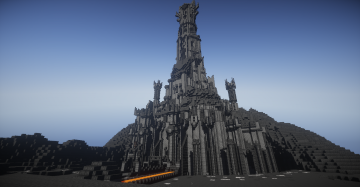 Barad-Dur, a new fortress in Mordor