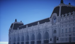 Musee d'Orsay in minecraft Minecraft Map & Project