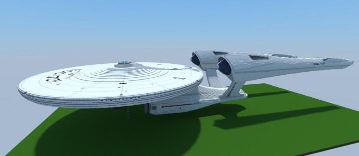 Star trek ncc 1701 uss enterprise with all interiors for Star trek online crafting leveling guide