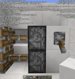 Self-reloading arrow dispernser. Minecraft Project
