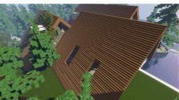 projet frame house dans la foret Minecraft Map & Project