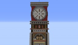 Redstone Torch ClockTower (Redstone House) Minecraft Map & Project