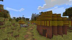 Medieval African Village Minecraft Project