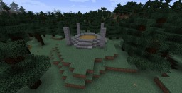 Skyrim Inspired Dragon Burial Mound Minecraft