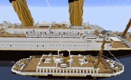 Titanic Part I - Southampton to Cherbourg Minecraft Map & Project