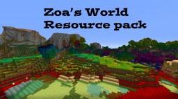 Zoa's World IT'S RAINBOWTASTIC! Minecraft Texture Pack