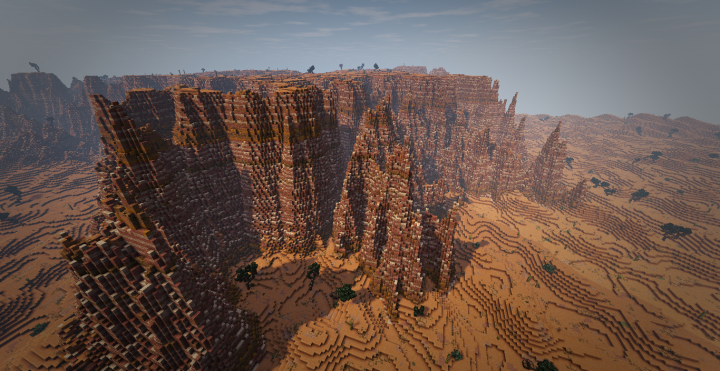 gaint mesas with to many impressive views to show heres a bryce mesa section