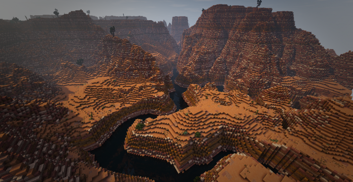 The red desert and mesa biome new and improved final product