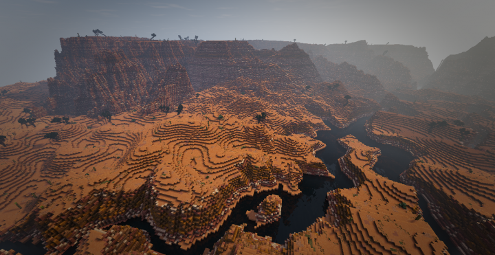 the other improvement in an attemp at realisim are the new desert dunes
