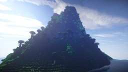 Grand Mountain Landscape Minecraft Map & Project