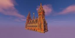 Vredespaleis Den Haag Minecraft