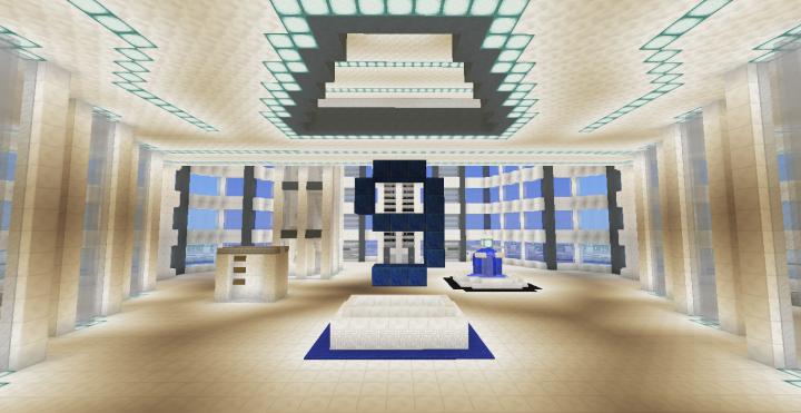 Quartz Tower 9 Minecraft Project