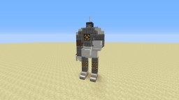 Robot Statue Minecraft Project