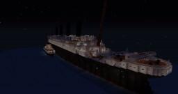 RMS Olympic 1914 Minecraft