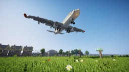 Planes at IAH Airport Minecraft Project