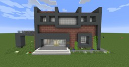 Neomodern Library Minecraft Map & Project