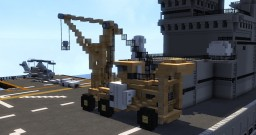 Tilley The Flight Deck Crane Minecraft Project