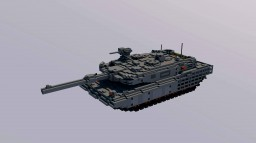 10:1scale leopard2a4 revolution   tank Minecraft Project