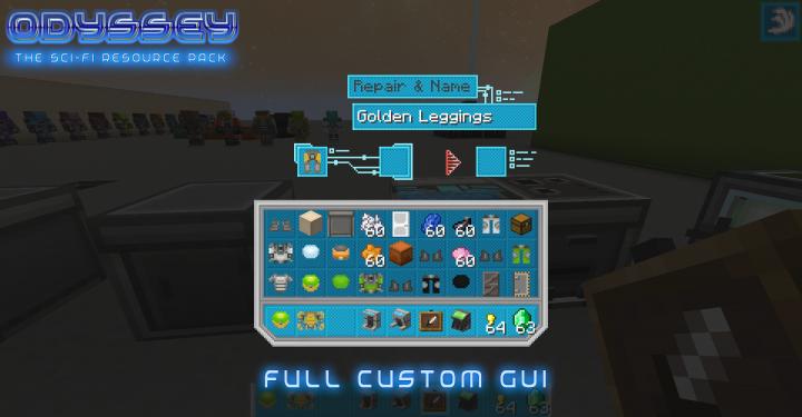 Custom GUI