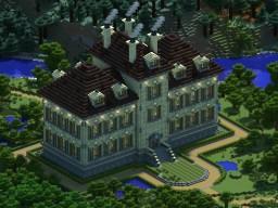 Bk's Tintin mansion Minecraft Project