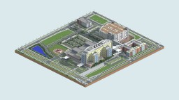 Central Hospital (Oakville-Trafalgar Memorial) | Mine County Buildings Minecraft Map & Project