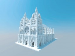 The White Cathedral Minecraft Map & Project