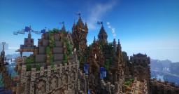 Medieval city Riverton (update) Minecraft Project