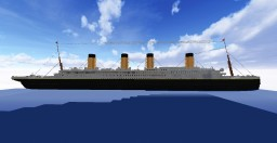 Minecraft Titanic Scale 1:1 Minecraft