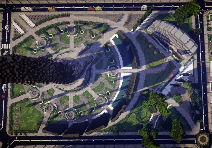 Minecraft City Map on Dc Ics City Map