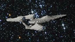 Mini USS Enterprise (1:6)   Star Trek Beyond  + [Schematic] Minecraft Map & Project