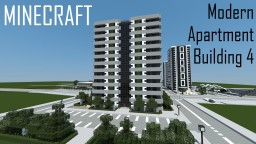 Modern Apartment Building 4 (full interior) Minecraft Project