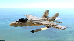 DFC-51A Jet Fighter Minecraft