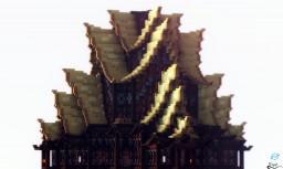 现代寺庙 - a oriental structure Minecraft Project
