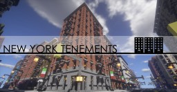 New York Tenements Minecraft Map & Project