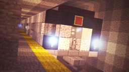 R160 New York City Subway Car Minecraft Map & Project