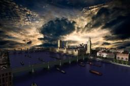 London 19th century Minecraft Map & Project
