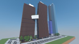 American Copper Building | 1:1 scale | New York City | [PC World] Minecraft Map & Project