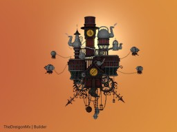 Clock Dark - Steam Punk