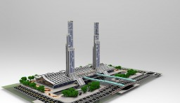 Convention and Exhibition Center, Midtown City of VotMaf Minecraft Project